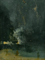 Whistler - Nocturne in Black & Gold (1874)