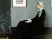 Whistler - Arrangement in Gray & Black                   (1871)