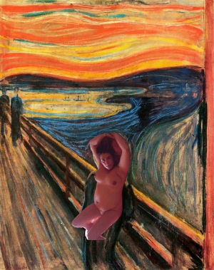 Catherine Uccellatore par Munch